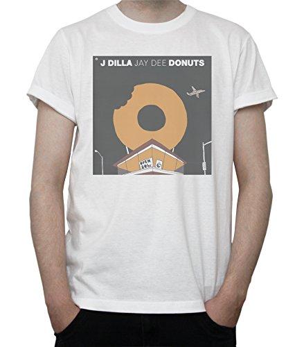 J DILLA DONUTS Mens T-Shirt