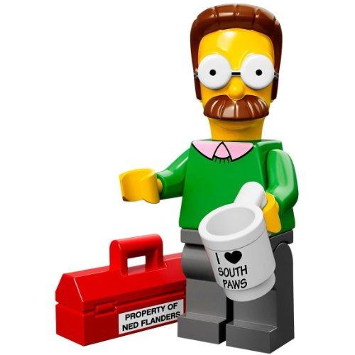 Lego-Minifiguras-serie-71005-Ned-Flanders