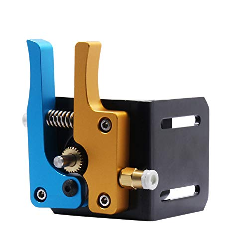 WINSINN - Kit bowden de recambio de extrusor de aluminio MK8 para impresora 3D Anet A8, Ender 3, RepRap, Prusa i3, filamento de boquilla de 1,75 mm