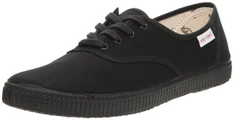 Victoria Inglesa Lona Piso Negro, Sneakers Basses mixte adulte, Noir