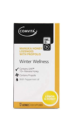 Manuka-Honig-Lutschtabletten mit Propolis ZITRONE UND HONIG