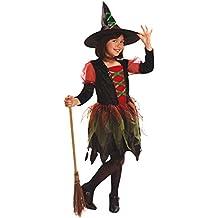 My Other Me - Disfraz de Brujita de colores para niñas, 3-4 años (Viving Costumes 200033)