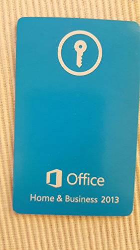 Microsoft Office Home and Business 2013 - 1PC (Product Key Card ohne Datenträger) - italienisch
