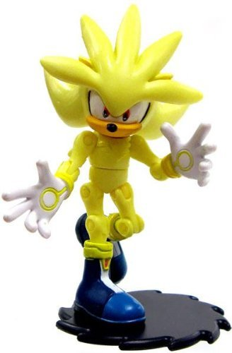 Sonic the Hedgehog 3.5 Inch LOOSE Action Figure Super Silver by Sonic The Hedgehog