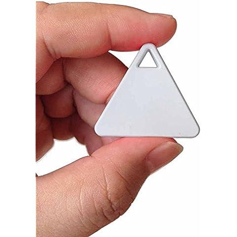 Triangolo Bluetooth anti-Lost Tracker, Chiave/cellulare/sacchetti antifurto, Bambini/Animali Anti-lost (Rosa)