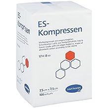ES-Kompressen unsteril 8fach 7,5x7,5cm, 100 St [Badartikel]