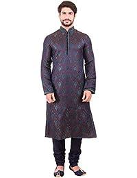 Manyavar Men's Blended Chudidar Kurta Pyjama