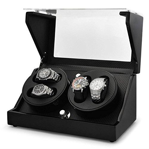 klarstein-ca2pm-remontoir-de-luxe-pour-4-montres-4-programmes-differents-optique-carbone