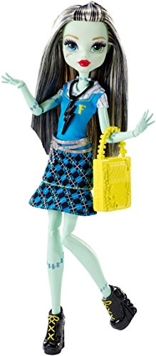 Mattel Monster High DNW99 - Todschicke Monsterschülerin (Monster High Frankie)