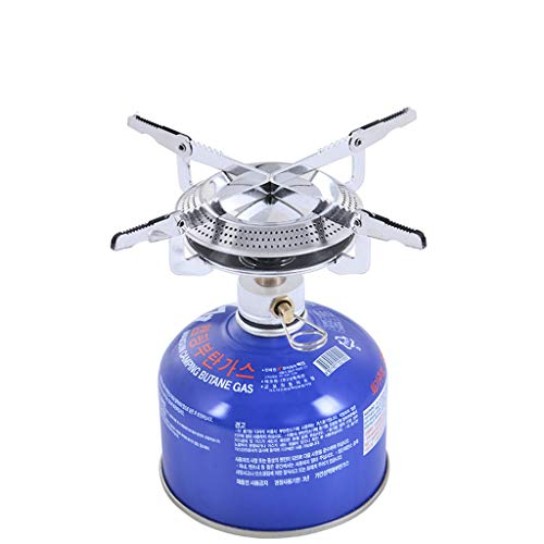 WULEI Outdoor Picnic-Gas Burner Portable Backpacking Camping Hiking Mini Stove