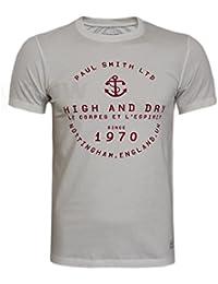 PAUL SMITH MEN'S T SHIRT, TEE HIGH & DRY S,M,L,XL,XXL SLIM FIT