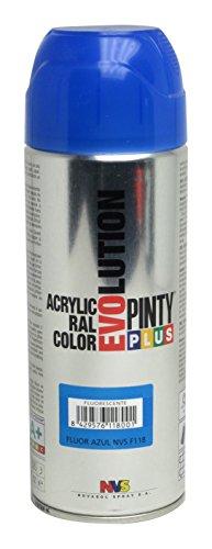 novasol-spray-cns163-lot-de-6-arosols-peinture-acryl-pinty-plus-acrylique-400ml-fluo-bleu