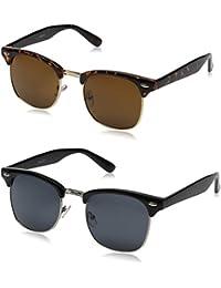 ZeroUV Herren Sonnenbrille Tortoise Smoke Einheitsgröße