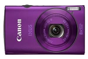 Canon IXUS 230 HS Digital Camera - Purple (12.1 MP, 8x Optical Zoom) 3.0 inch LCD
