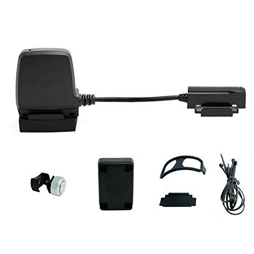 RPM Speed und Cadence Combo Sensor, kabellos, Bluetooth/ANT + Bike Computer Fitness Tracker Tachowelle für iOS und Android–Schwarz