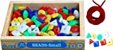 #9: Little Genius Beads, Multi Color (Small - 100 Pieces)