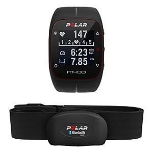 Polar M400 GPS-Laufuhr, schwarz, 90051341