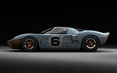 ford-gt-customized-38x24-inch-silk-print-poster-seide-poster-wallpaper-great-gift