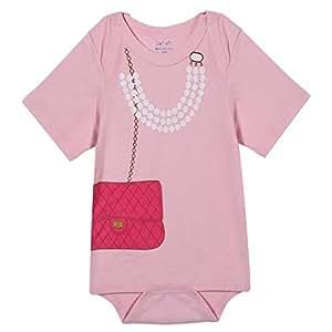 """Baby-Prinzessin Perle Handtaschen-Dame-Spielanzug Strampler Baby-Kostüm: 70 """""""