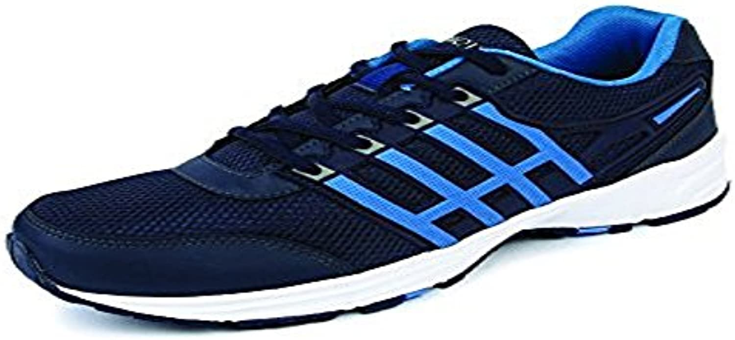 Mmojah Men Energy 37 Navy/Blue Aster Running Sports Shoes 6