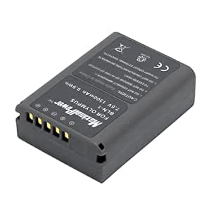 MaximalPower Replacement Battery for Olympus BLN-1 and Olympus OM-D E-M5/PEN E-P5 Camera