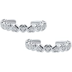 Silver Dew Silver Sterling-Silver Toe Rings For Women & Girls