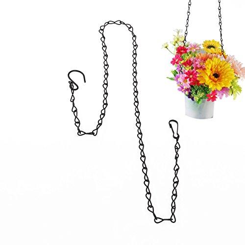 rosenice Kette mit Haken appendivasi für Blumentopf zum Aufhängen von 90cm