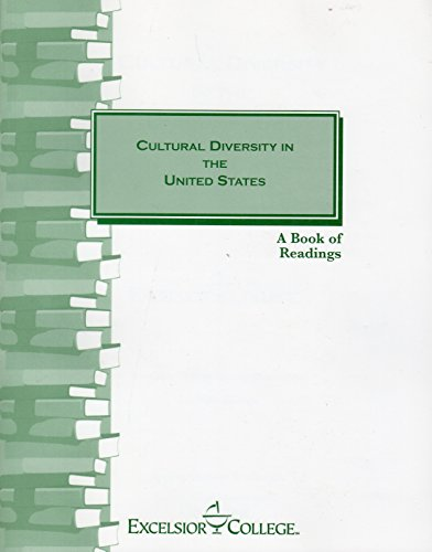 Cultural Diversity in the United States Excelsior College Edition