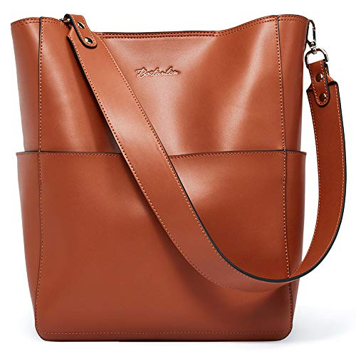 BOSTANTEN damen leder designer-handtaschen tote schürzt schulter eimer taschen groß (l) 10,35