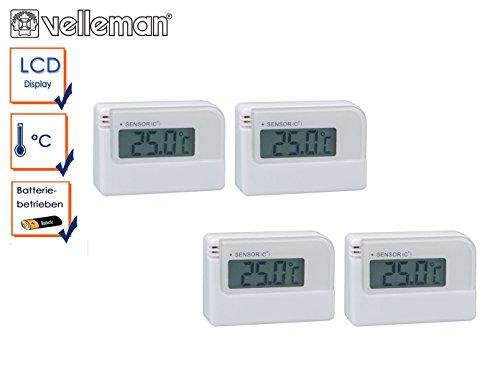 SchöN Mini Lcd Digital Thermometer Hygrometer Tester Temperatur Feuchtigkeit Detektor Baby Umwelt Mess Mutter & Kinder Thermometer