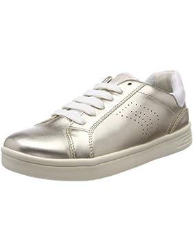 Geox J Djrock Girl a, Zapatillas Para Niñas