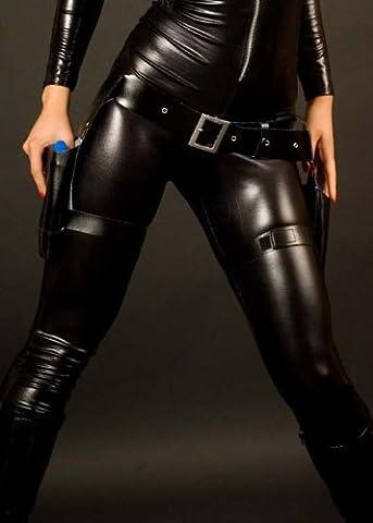 Lara Croft Style Black Thigh Leg Holster