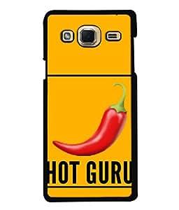 Printvisa Designer Back Case Cover for Samsung Galaxy J3 (6) 2016 :: Samsung Galaxy J3 2016 Duos :: Samsung Galaxy J3 2016 J320F J320A J320P J3109 J320M J320Y (Red Hot Guru chili Pepper )