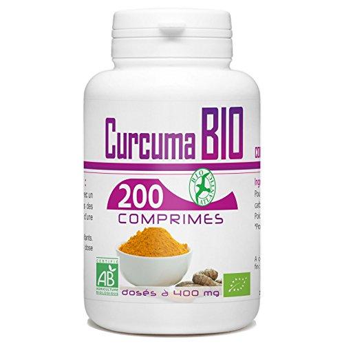 Curcuma Bio - 400mg - 200 Comprimés