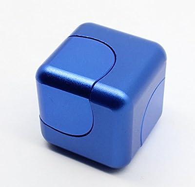 Mano Spinner Joy, Fidget Cubo Giratorio de Gyro Para añadir ADHD Ansiedad en el Autismo de Aleación de Aluminio by Kayear
