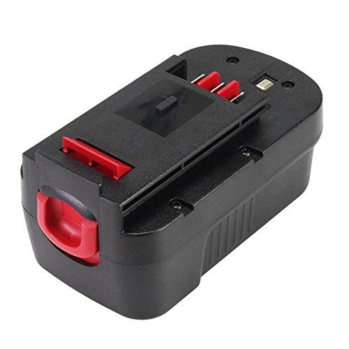 Eagglew 18V 2.0Ah Ni-CD Batterie de Remplacement pour Black&Decker A1718 A18NH HPB18 HPB18-OPE Firestorm A18 FS180BX FS18BX FS18FL FSB18 244760-00 Cordless Drill