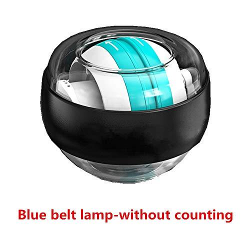Unbekannt Handballen, Modelle Gyroskope - Handgelenk stark, Griff Siator, Griff Sion Ball Gyro GyroSkope Selbststart EDF mit blauem Licht ohne Zählung - platinblau