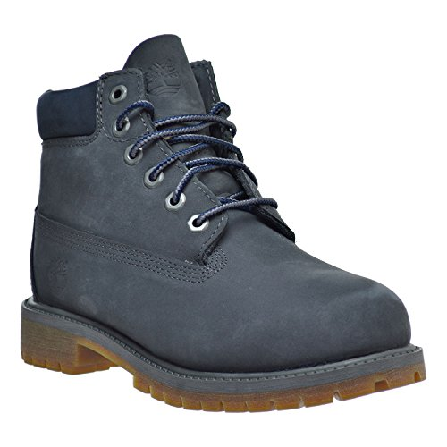 Timberland 6 Inch Classic Boot Youth Dark Grey Nubuck Ankle Boots Gris