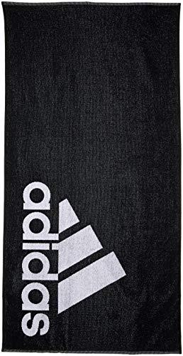 adidas Erwachsene Towel L Handtuch, Black/White, One Size