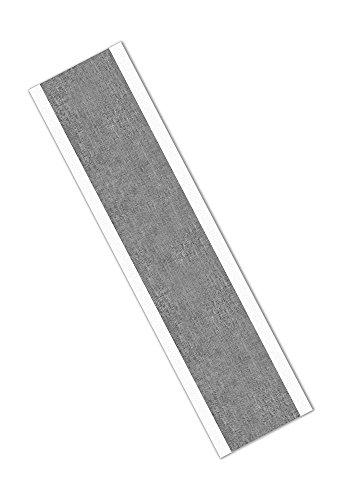 TapeCase 427 Aluminium-Klebeband, 1,9 x 20,3 cm, 100 glänzende Silberfarben, Acryl-Klebeband, 65-300 Grad F Leistungstemperatur, 0,0046 cm dick, 20,3 cm lang, 1,9 cm breit, rechteckig, 100 Stück