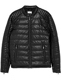 new product 2dfdf cea10 Amazon.it: giubbotto di pelle uomo - Zara / Uomo: Abbigliamento