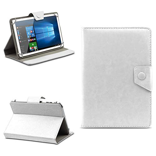 na-commerce Telekom Puls Tablet Hülle Tasche Schutzhülle Case Schutz Cover Stand 8 Zoll Etui, Farben:Weiss