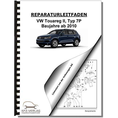 VW Touareg, Typ 7P (10>) Bremsanlagen, Bremsen - Reparaturanleitung