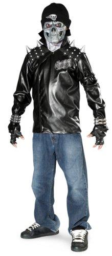 ull Biker (Metal Skull Biker Kostüm)