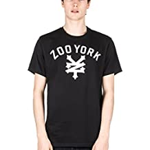 ZOO YORK Herren T-Shirt Templeton schwarz-weiss Gr. M