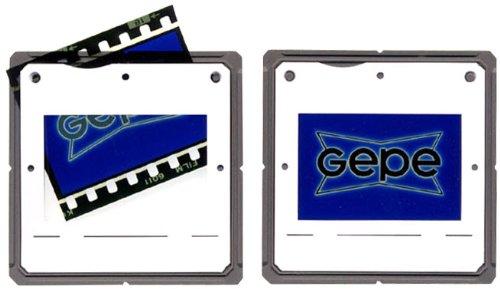 Gepe 7055Diarahmen 1,8mm CS System glaslos Scharnier Halterung (200Stück) -