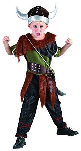 Wikinger Kostüm Junge - Bristol Novelty, Wikinger-Kostüm für Jungen