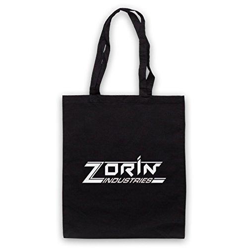 Inspiriert durch James Bond A View To A Kill Zorin Industries Inoffiziell Umhangetaschen Schwarz