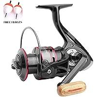 Carrete de pesca spinningECOOLBUY 12BB 5.2  Carrete de metal para pesca spinning, series 1000, 2000, 3000, 4000, 5000, 6000 y 7000., 12BB-5000