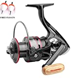 ecoolbuy Boot Rock Spinning Fishing Reel 12BB 5,2: 1 Metall Karpfen Angeln Rad Spinning Reel 1000 2000 3000 4000 5000 6000 7000 Series, 12BB-1000